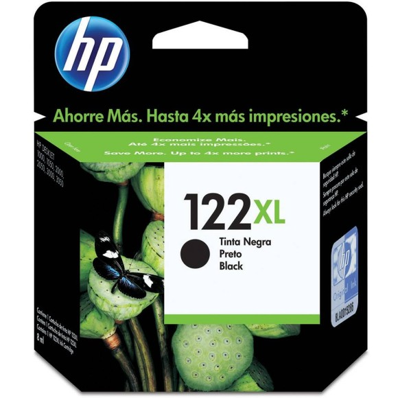 CARTUCHO HP 122 XL PRETO ORIGINAL