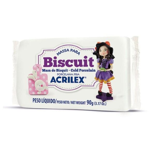 BISCUIT PORCELANA FRIA 90GR NATURAL ACRILEX