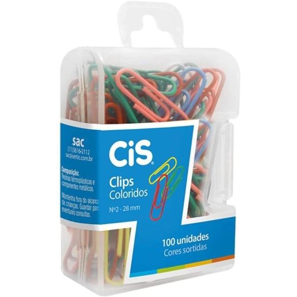 CLIPS Nº2 C/100UN COLORIDOS KY-040 CIS