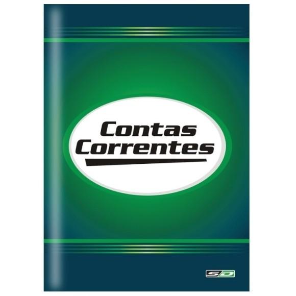 LIVRO CONTA CORRENTE OFICIO C/100 FOLHAS SAO DOMINGOS