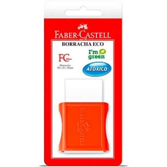 BORRACHA TK C/CAPA GRANDE BLISTER FABER CASTELL