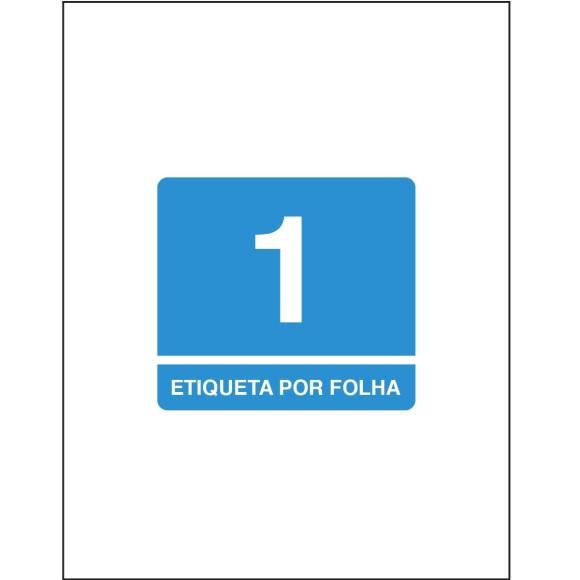 ETIQUETA 215,9X279,4 CT TB6185 100FLS 100 ETIQS. 1 P/FOLHA TILIBRA