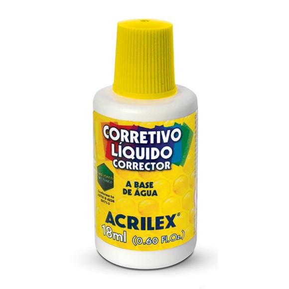 CORRETIVO LIQUIDO 18ML ACRILEX
