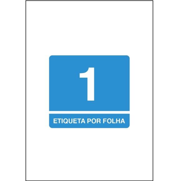 ETIQUETA 21,0MMX29,7MM A4 TBA4367 100FLS 100 ETIQS. 1 P/FOLHA TILIBRA