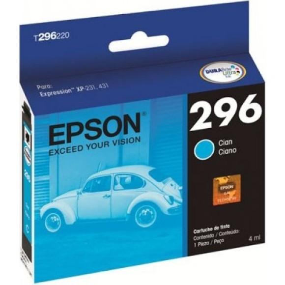 CARTUCHO EPSON T296220BR CIANO ORIGINAL