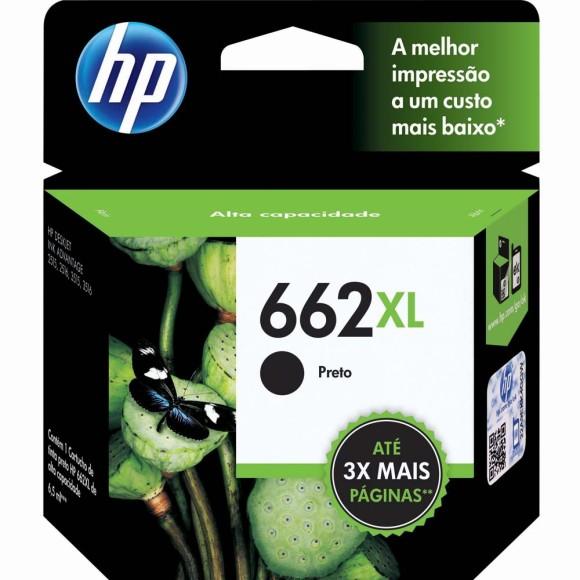 CARTUCHO HP 662 XL PRETO ORIGINAL