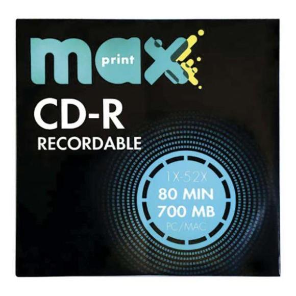 CD-R 700MB ENVELOPE MAXPRINT