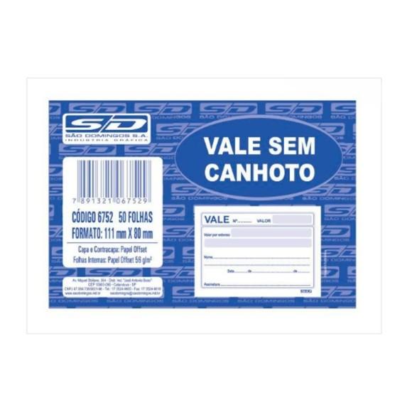 BLOCO VALE S/CANHOTO C/50 FLS SAO DOMINGOS
