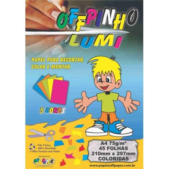 BLOCO CRIATIVO LUMI A4 45FLS 75GR 210X297 OFF PAPER