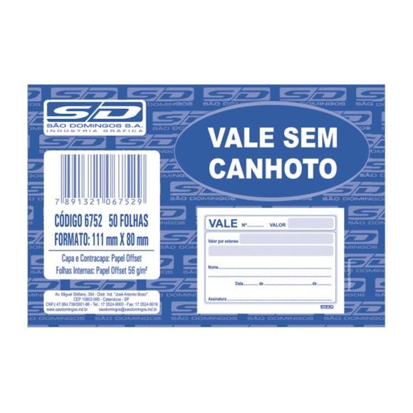 BL. VALE S/CANHOTO C/100 FLS SAO DOMINGOS