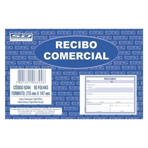 BL. RECIBO COMERCIAL S/COPIA C/50 FLS SAO DOMINGOS