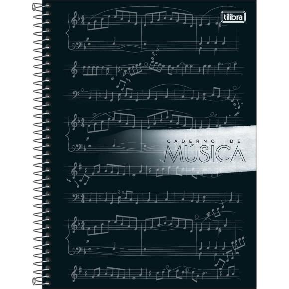 CADERNO MUSICA CAPA DURA UNIV.80FLS TILIBRA