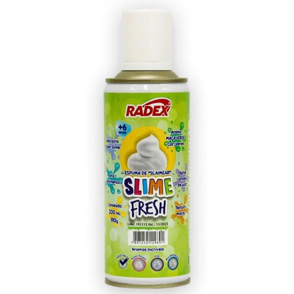 ESPUMA SLIME FRESH 200ML RADEX